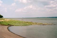Ile D'Orleans (ciaraspurling) Tags: film photography filmphotography portra160 kodakportra filmisntdead nature landscape beach hiking adventure roadtrip quebec quebeccity iledorleans stlawrence