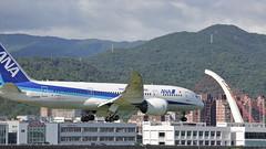 JA808A All Nippon Airways Boeing 787-8 Dreamliner (watson88) Tags: taipeisongshanairport tsa allnipponairways ana ja808a nh853 hndtsa 松山機場 全日本空輸