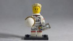 Brick Yourself Custom Lego Figure - Astronaut with Game Controller