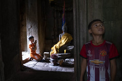 Aspiration (Photo 21/24) (Mio Cade) Tags: buddha pray boy kid children wish hope temple holy love wisdom asia reportage documentary