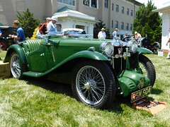 1934 MG PA Roadster by Carbodies (splattergraphics) Tags: 1934 mg pa mgpa roadster carbodies blown carshow theeleganceathershey hersheypa