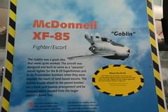 SAC_0115 McDonnell XF-85 Goblin parasite fighter (kurtsj00) Tags: sac museum strategic air command