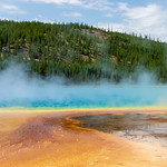 Grand Prismatic Spring. Yellowstone