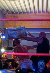 2019-08-10_22-56-15_ILCE-6500_DSC09456_DxO (miguel.discart) Tags: belgium belgique belgie destroyer dxo catch 67mm 2019 editedphoto frameries focallength67mm focallengthin35mmformat67mm createdbydxo e2875mmf2828 bodyzoi combatdelutte bodyzoiwrestling extremematch sport wrestling lutte sony highiso wrestlingmatch iso4000 pierreboosterfontaine ilce6500 sonyilce6500 sonyilce6500e2875mmf2828