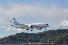 JA808A Boeing 787-8 Dreamliner (watson88) Tags: taipeisongshanairport tsa allnipponairways ana ja808a nh853 hndtsa 松山機場 全日本空輸 boeing7878dreamliner