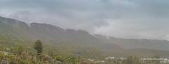 Cloud hangs over the Illawarra Escarpment (Peter.Stokes) Tags: australia australian colour landscape landscapes nsw native nature photography vacations colourphotography panorama outdoors photo illawarraescarpment