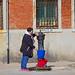 the blue bucket - Venetian Arsenal - historical centre - Venice - April 2019