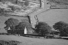 GradbachRd (Tony Tooth) Tags: nikon d600 tamron 500mm mirror reflex catadioptric barn derelict road countryside gradbach staffs staffordshire bw blackandwhite monochrome england