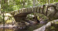 Un pont de pierre au saut des cuves (mrieffly) Tags: histoiredeau pontàlancienne canoneos50d vosges xonrupthlongemer vologne