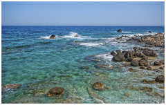 The Colours of Lefkos (WS Foto) Tags: lefkos karpathos dodekanes greece griechenland sea meer grün türkis green blue blau water wasser steine fels clear rocks aegean ägäis greekisland griechischeinseln