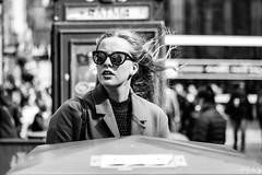 Wisp (Cycling-Road-Hog) Tags: candid canoneos750d citylife edinburgh edinburghstreetphotography fashion hairstyle places royalmile scotland shades street streetphotography streetportrait style urban