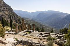 Temple of Apollo Delphi 050919 N63A0059-a (Tony.Woof) Tags: delphi temple apollo
