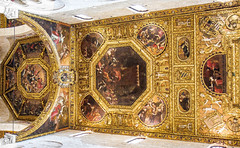 golden ceiling (werner boehm *) Tags: wernerboehm ceiling basilicadisannicola bari apulien italy architecture
