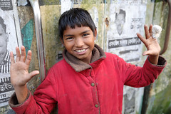 Bangladesh, happy street boy in Dhaka (Dietmar Temps) Tags: abandoned asia bangladesh boy child culture developingcountry dhaka homelessness human humanity kid male orphan outdoor people person poor poverty streetchildren streetkids streetyouth young happy smile fun