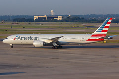 American Airlines B787-9 DREAMLINER N823AN 003 (A.S. Kevin N.V.M.M. Chung) Tags: aviation aircraft aeroplane airport airlines taxiway plane spotting aa american airside dfw dallas boeing b787 b7879 dreamliner