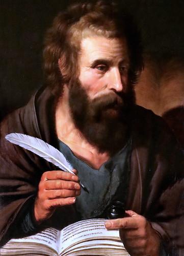 IMG_0061FL Artus Wolfaert 1581-1641 Anvers  Saint  Marc  Besançon Musée des Beaux Arts