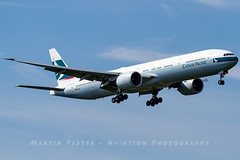 B-KQP // Cathay Pacific // Boeing 777-367(ER) (Martin Fester - Aviation Photography) Tags: bkqp cathaypacific boeing777367er 777300 777 b777 b773 boeing777300 417581224 msn1224 londonairport londonheathrow lhr lhregll egll heathrow heathrowairport aviation avgeek aviationlovers airplane aircraft aviationphotography plane flickraviation planespotting flickrplane aviationdaily aviationgeek aviationphotograph planes aircraftspotter avgeekphoto airbuslover aviationspotters airplanepictures planepicture worldofspotting planespotter planeporn aviationpic aviationgeeks aviationonflickr aviation4you aeroplanes