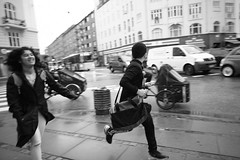 Young commuter's last minute (Bjarne Erick) Tags: young commuter late last minute rush