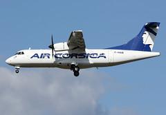 AIR  CORSICA / ATR 42-500   F-HAIB / LFBO - TLS / sept 2019 (gimbellet) Tags: canon nikon spotting spotter boeing blagnac lfbo planes transport transportation toulouse tls toulouseblagnac airbus a330 a380 airplanes a320 a340 aircraft aviation avions airport a350 aeronautique atr airplane aeroport aeroplane