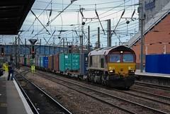 66213 R00697 Doncaster DSC_9554 D80 (D210bob) Tags: 66213 r00697 doncaster dsc9554 d80 railwayphotographs railwayphotography railwayphotos railwaysnaps class66 freighttrain eastcoastmainline ews intermodal nikon nikond80