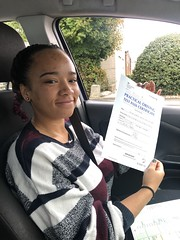 Massive congratulations  to Marie Ogun passing her driving test!!  www.leosdrivingschool.com  WARNING: Getting your license is a good achievement however being a SAFE driver for life is the biggest achievement!