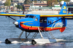 Kenmore Air Special (N50KA) (Fraser Murdoch) Tags: de havilland canada dhc3t vazar turbine otter kenmore air seaplane base lake union seattle washington state floatplane sea plane float evening king 5 king5 k5 n50ka special livery colour scheme aviation aircraft fraser murdoch canon eos 650d water indian force cn 221 im1720 mike hackman sales la ronge harbour