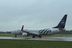 KLM, Boeing 737-800, PH-BXO, Skyteam colours (Ian A Gratton) Tags: klm manchester boeing 737