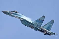 "Sukhoi Su-35S RF-81719/""52 Red"" (Nils Mosberg) Tags: maks2019 zhukovsky flanker sukhoisu35s rf81719 russianaerospaceforces"