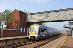 Belfast, 23/04/2019 (Milepost98) Tags: ni northern ireland irish railway railways train translink c3k 3000 class caf railcar dmu 3021 yorkgate station belfast