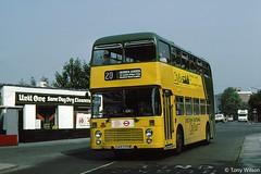 UAR590W Eastern National Citybus 3100 (theroumynante) Tags: uar590w eastern national citybus 3100 bristol vr coachworks ecw loughton bus buses road transport doubledeck stepentrance london regional lrt route20 20