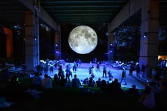 Full Moon Under The Gardiner Expressway .... Majesty Of The Moon Brought Down To Earth .... Toronto, Ontario, Canada (Greg's Southern Ontario (catching Up Slowly)) Tags: moon museumofthemoon lukejerram nikon nikond3200 artinstallation thebentway gardinerexpressway