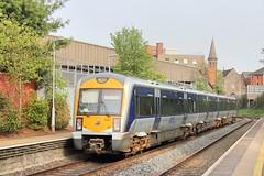 Belfast, 23/04/2019 (Milepost98) Tags: ni northern ireland irish railway railways train translink c3k 3000 class caf railcar dmu 3001 city hospital station halt belfast