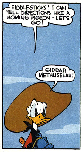 """""""The Limber W Guest Ranch"""" (1943) by Carl Barks"""