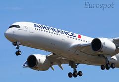 F-WZFN Airbus A350 Air France (@Eurospot) Tags: fwzfn airbus a350 a350900 fhtya toulouse blagnac airfrance