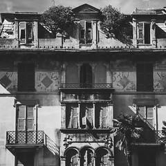 The dust settles on my skin (.KiLTЯo.) Tags: kiltro it italia italy liguria rapallo house architecture decay decline street town urban square