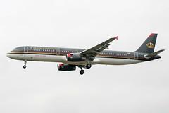 JY-AYG (PlanePixNase) Tags: london heathrow lhr egll planespotting airport aircraft airbus 321 a321 royaljordanian