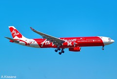 AIR ASIA A330 9M-XXB (Adrian.Kissane) Tags: airline airliner jet plane aircraft airbus aeroplane aviation australia arriving flying flight sky outdoors 974 1312009 9mxxb a330 melbourne airasia