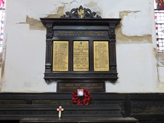 Church of St John the Evangelist, Leeds 2019 (Dave_Johnson) Tags: churchofstjohntheevangelist stjohntheevangelist saintjohntheevangelist stjohn saintjohn evangelist church old warmemorial war memorial tribute poppy poppies britishlegion leeds yorkshire westyorks westyorkshire