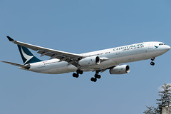 Cathay Pacific - Airbus A330-342 / B-LAO @ Manila (Miguel Cenon) Tags: cx cxa330 cx333 airplane airplanespotting apegroup appgroup airport rpll airbus airbusa330 airbusa333 a330 a333 manila nikon naia d3300 ppsg planespotting philippines plane cathaypacific cathay cathaya330 wings widebody widebodyjet wing fly flying twinengine rollsroyce rrtrent trent700 sky cockpit window jet aircraft blao