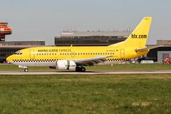 D-AHLG (PlanePixNase) Tags: aircraft airport planespotting haj eddv hannover langenhagen boeing 737 hlx hapaglloyd express 737500 b735