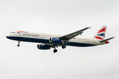 G-EUXF (PlanePixNase) Tags: london heathrow lhr egll planespotting airport aircraft british britishairways airbus 321 a321