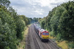 60020, Kingsbury (JH Stokes) Tags: dbcargo class60 diesellocomotives freighttrains freightlocomotive locomotives ferroequinology kingsbury trains trainspotting tracks transport railways photography warwickshire 60020