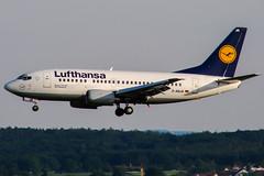 D-ABJA (PlanePixNase) Tags: stuttgart str edds echterdingen airport aircraft planespotting lufthansa boeing 737 737500 b735