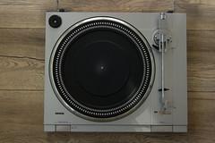 Erres RT 134 Semi  Automatic Turntable top (Pabo5) Tags: erreserresrt134semiautomaticturntablelightweightturntablegp300cartphilipsmadeinbelgiumbelddrivebelddrivesynchrocontrolsemiautomatictt gramophone phonograph turntable recordplayer