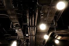 ceiling metal (Sat Sue) Tags: olympus micro four thirds 43 penf japan fukuoka