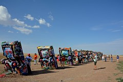 Cadillac Ranch (ricko) Tags: cars cadillacs buried cadillacranch amarillo texas route66