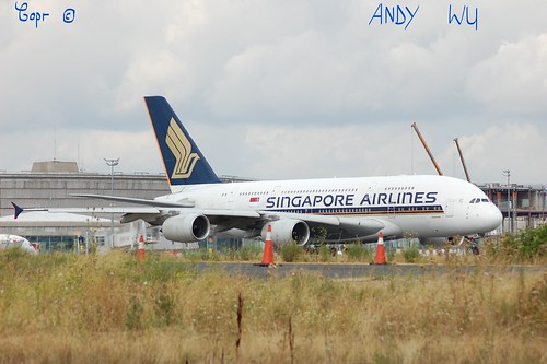 Airbus A380 Singapore Airlines (08/07/2019)
