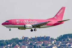 D-AHLD (PlanePixNase) Tags: stuttgart str edds echterdingen airport aircraft planespotting hlx hapaglloyd express tmobile boeing 737 b735 737500 tui