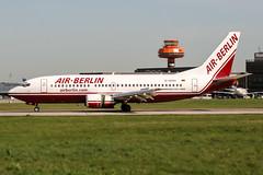 D-ADIH (PlanePixNase) Tags: aircraft airport planespotting haj eddv hannover langenhagen boeing b733 737300 737 airberlin