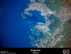 Acapulco - Mexico (RikyUnreal) Tags: iss expedition60